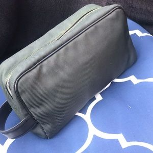 Authentic Louis Vuitton cosmetic bag leather Lv